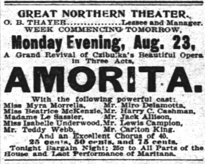 Carlton S King The_Inter_Ocean_ Chicago Illinois Sun__Aug_22__1897_