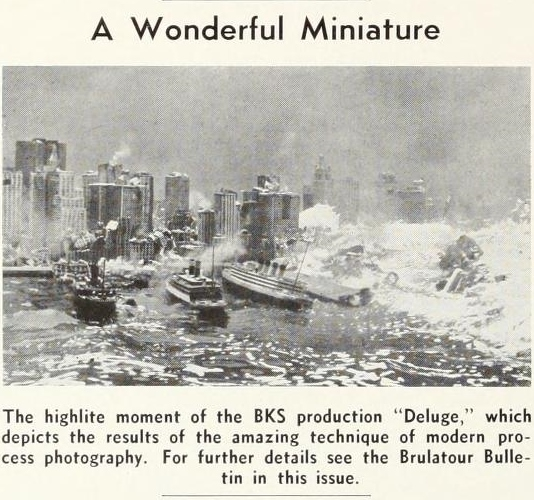 Deluge Miniature International Photographer August 1933