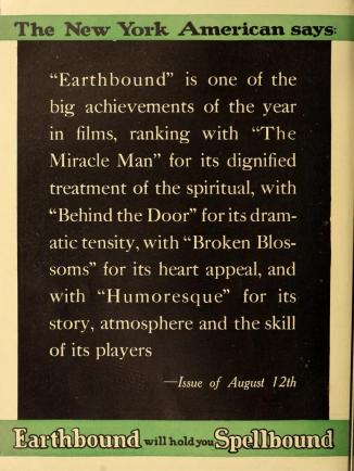 Earthbound Motion Picture News October 16, 1920 full page.php