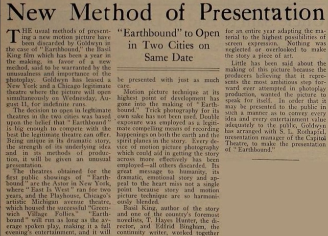 Earthbound New Method Motion Picture News August 14, 1920 .php