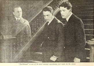 Earthbound picture play magazine November, 1920