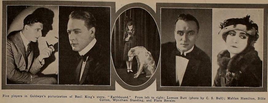 Earthbound Players Pictures Motion Picture News August 21, 1920
