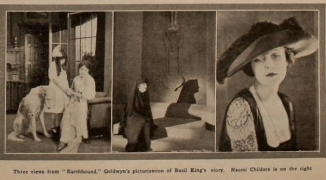 Earthbound Three Views Motion Picture News August 14, 1920