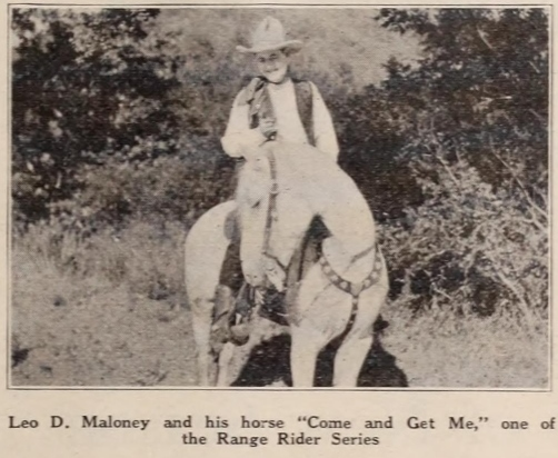 Leo Maloney Exhibitors Herald (Jul-Sep 1922) 6