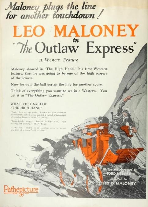 Leo Maloney The Film Daily (Jul-Dec 1926
