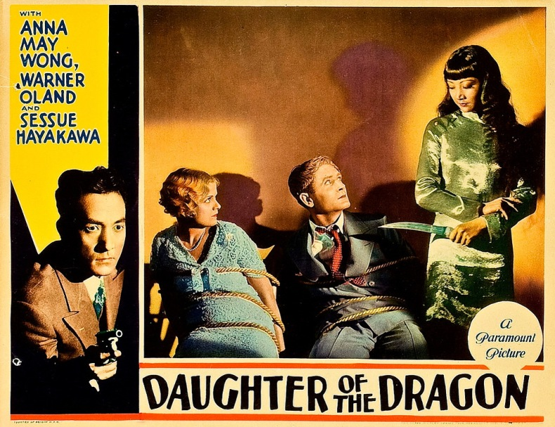 Daughter of the Dragon lobby card
