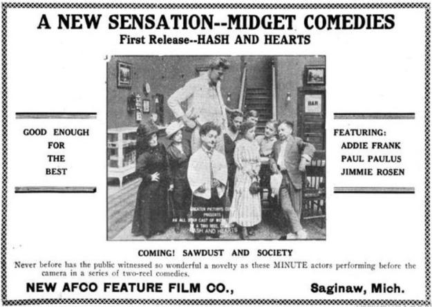 Addie Frank Paul Paulus Jimmie Rosen film Michigan Film Review, December 25, 1917 1