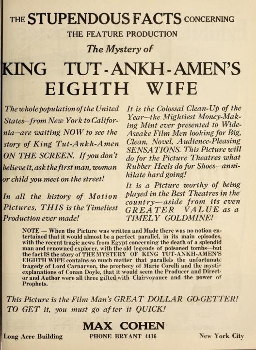 Exhitibor's Trade Review April 21, 1923