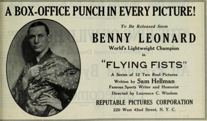 Film Daily, May 11, 1924 ad