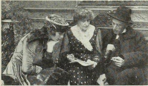 Photoplay Magazine July 1917 Constance Talmadge, Mary Hamilton O'Connor and Frank Woods