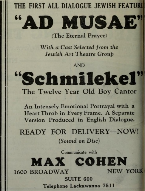 The Film Daily October 2, 1929