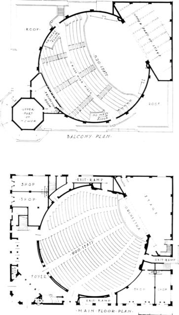 Carthay Circle Theatre Floor Plan