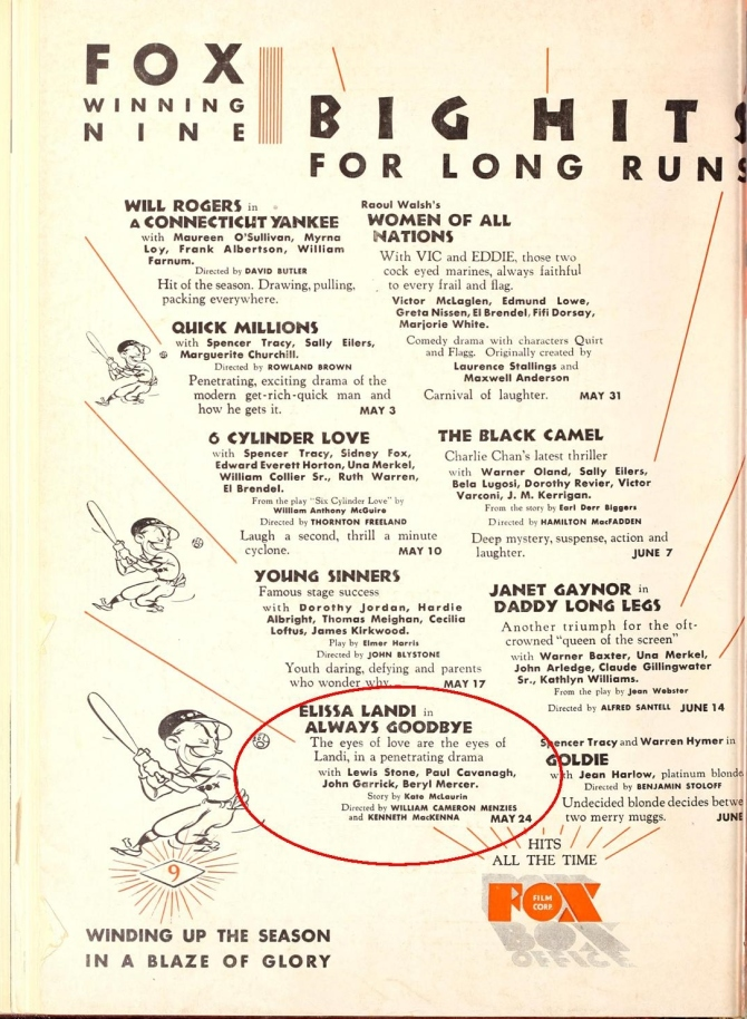 Motion Picture News May 2, 1931