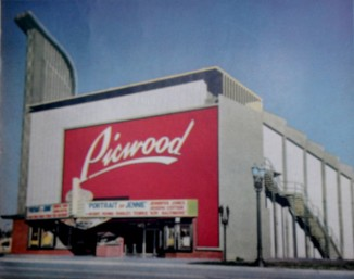 Picwood Theater, Portrait of Jenny Preview, 1948