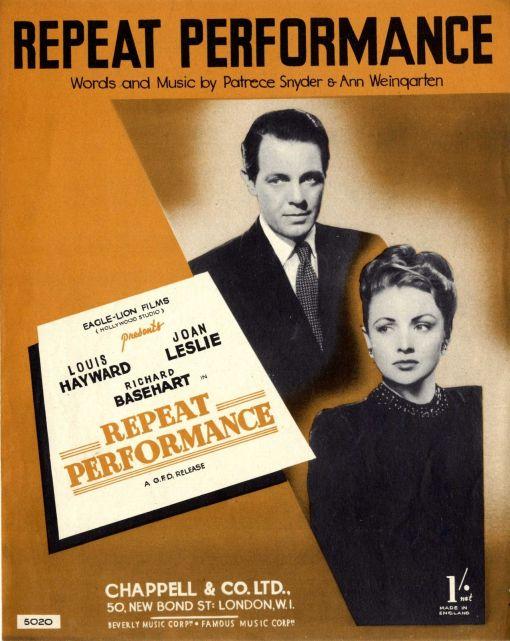 Repeat Performance sheet music
