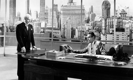 The 1949 film version of Ayn Rand's novel, The Fountainhead