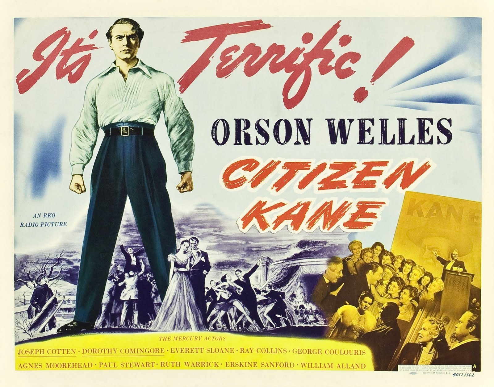 TCM - Citizen Kane, January 8th, 1941: Hearst vs. Welles ...
