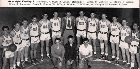 Colton, California, Colton Union High School Yearbook 1949