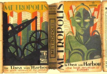 metropolis hardback cover