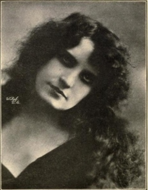 Edna Maison; Picture Player Camera Men's Ball Souvenir Program, 1914