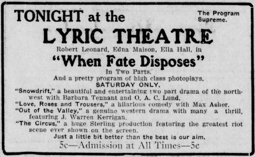 Santa Ana Register, Santa Ana, California, September 4, 1914