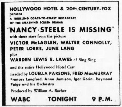 Brooklyn Daily Eagle, Brooklyn, New York, March 5, 1937