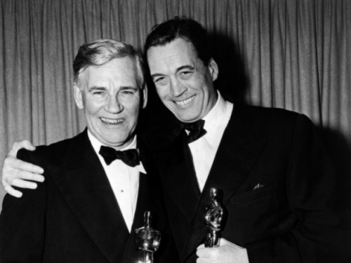 Walter and son John Huston