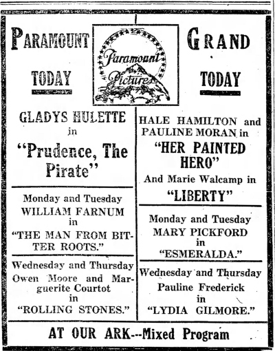 Logansport Pharos Tribune, Logansport, Indiana, October 22, 1916