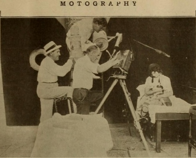 Motography, behind the scenes October 7, 1916