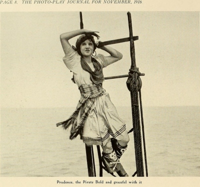 The Photo-Play Journal, pirate bold, November, 1916