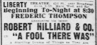 New York Tribune, New York, New York, March 24, 1909