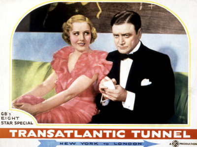 TRANSATLANTIC TUNNEL (aka THE TUNNEL), Madge Evans, Richard Dix, 1935