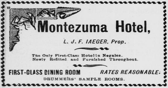 Border Vidette, Nogales, Arizona, November 9, 1912