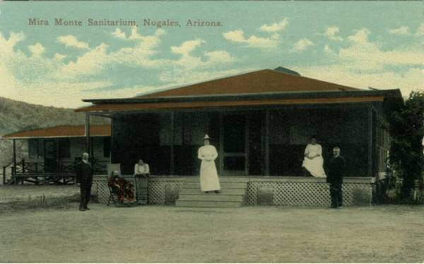 Arizona, Pre 1930, White Border Post Card Collection Section 7 — N to Phoenix 2781, by Al Ring