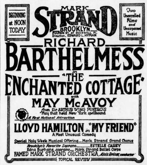 Brooklyn Daily Eagle, Brooklyn, New York, April 13, 1924