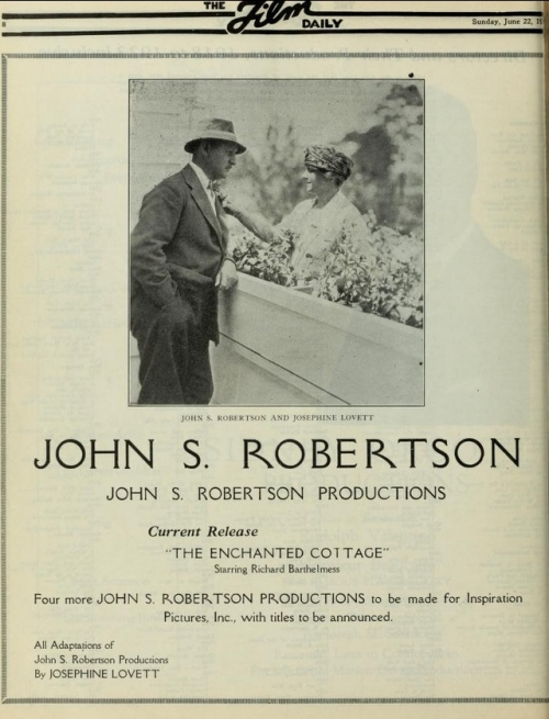 Film Daily, June 22, 1924