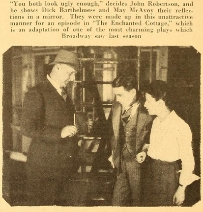 Motion Picture Magazine, March, 1924, behind the scenes