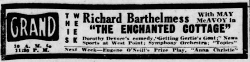 Pittsburgh Gazette Times, Pittsburgh, Pennsylvania, April 7, 1924