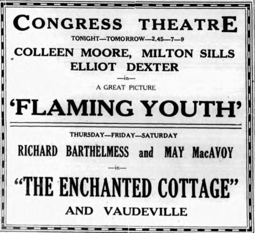 The Saratogian, Saratoga Springs, New York, April 1, 1924