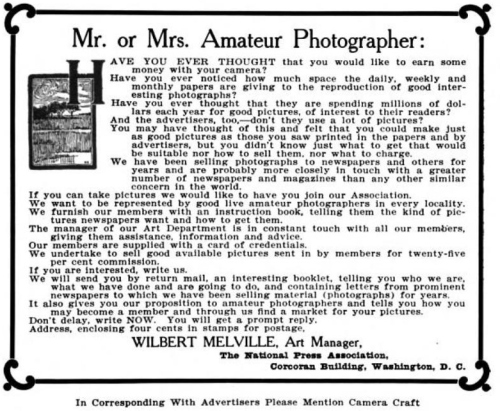 Camera Craft Magazine, September, 1905