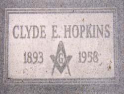 Hpkins grave marker