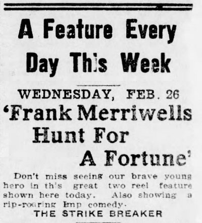 Allentown Democrat, Allentown, Pennsylvania, February 26, 1913