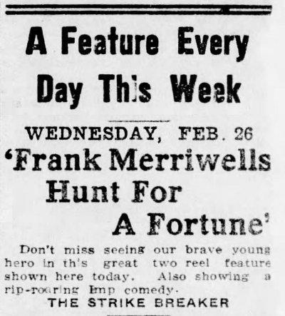 Allentown Democrat, Allentown, Pennsylvania, February 26, 1913