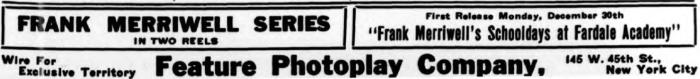 Billboard, December 21, 1912