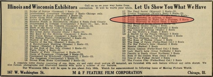 Moving Picture World, July 12, 1913