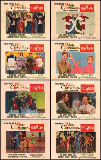 White Christmas Lobby Cards