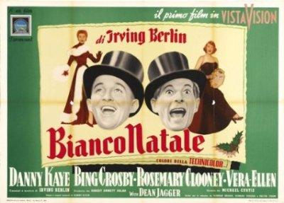 White Christmas Poster Italy