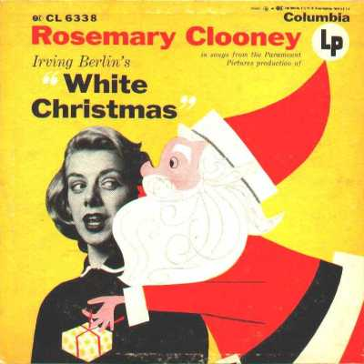 White Christmas Clooney