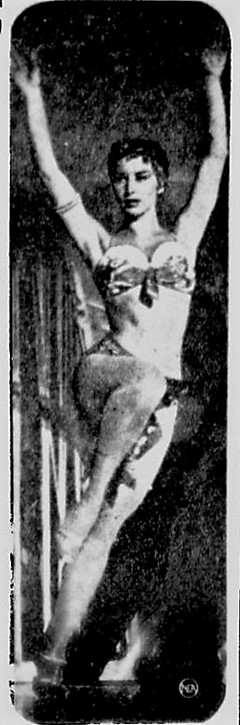 Tybe Afra, Spencer Times, Spencer, Iowa, March 30, 1958