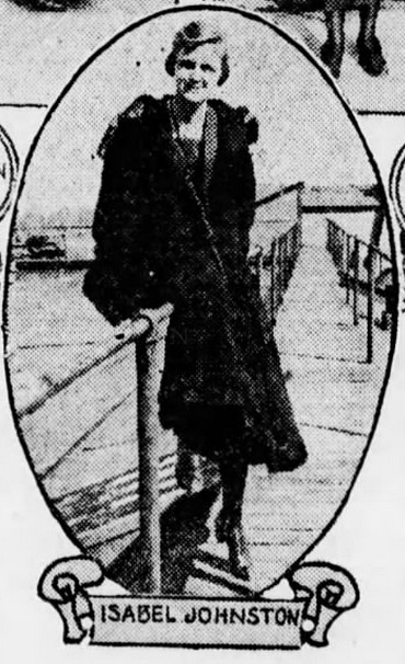 Isabel Johnston Graduation Photo; Brooklyn Daily Eagle, June 15, 1919